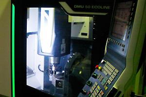 5軸マシニングセンター